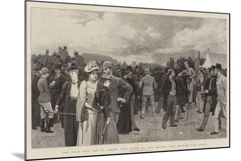 The Race for the St Leger, the Scene on the Course Just before the Start-Charles Green-Mounted Giclee Print