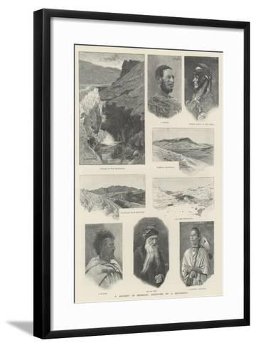 A Journey in Morocco-Charles Auguste Loye-Framed Art Print