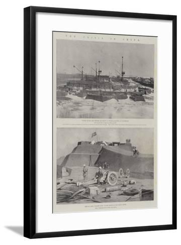 The Crisis in China-Charles Auguste Loye-Framed Art Print
