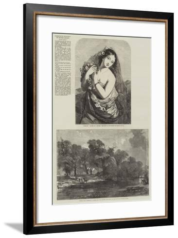Exhibition of the Society of British Artists-Charles Baxter-Framed Art Print