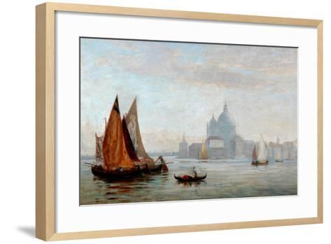 Church of Santa Maria Della Salute, Venice, 1875-Charles Edward Holloway-Framed Art Print