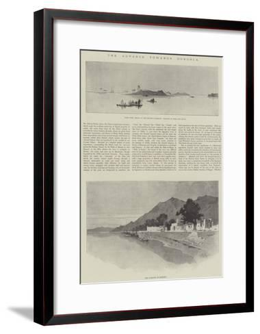 The Advance Towards Dongola-Charles Auguste Loye-Framed Art Print