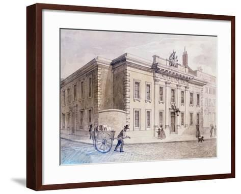The Armourers' and Braziers' New Hall, 1850-Charles Bigot-Framed Art Print