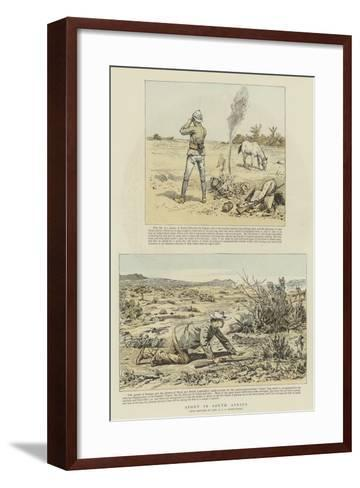 Sport in South Africa-Charles Edwin Fripp-Framed Art Print