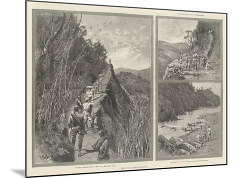 With the Lushai Expedition-Charles Auguste Loye-Mounted Giclee Print