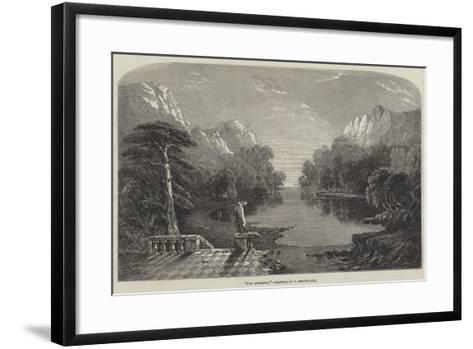 The Deserted-Charles Branwhite-Framed Art Print