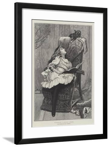 Kittens, Royal Institute Art-Union Exhibition-Charles Burton Barber-Framed Art Print