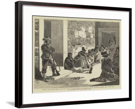 Sketches from South Africa-Charles Edwin Fripp-Framed Art Print