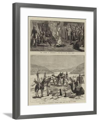 The Campaign in Afghanistan-Charles Edwin Fripp-Framed Art Print