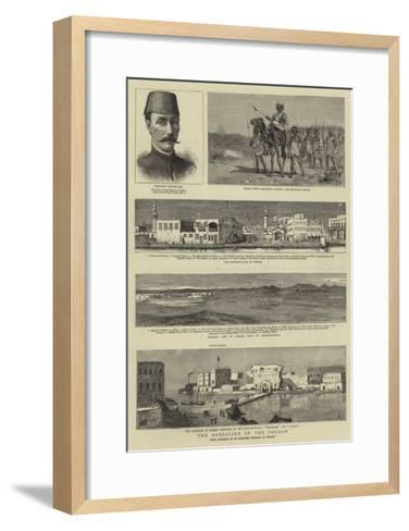The Rebellion in the Soudan-Charles Edwin Fripp-Framed Art Print