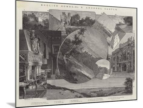 Arundel Castle-Charles Auguste Loye-Mounted Giclee Print