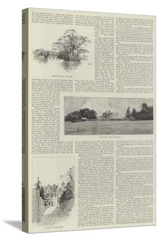 Eastwell Park-Charles Auguste Loye-Stretched Canvas Print