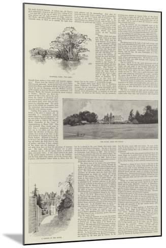 Eastwell Park-Charles Auguste Loye-Mounted Giclee Print