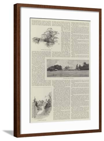 Eastwell Park-Charles Auguste Loye-Framed Art Print