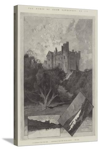 Castlewellan-Charles Auguste Loye-Stretched Canvas Print