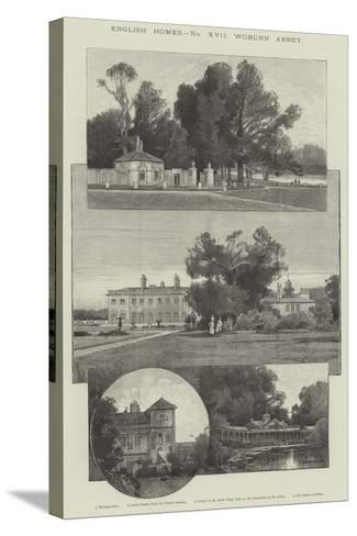 Woburn Abbey-Charles Auguste Loye-Stretched Canvas Print