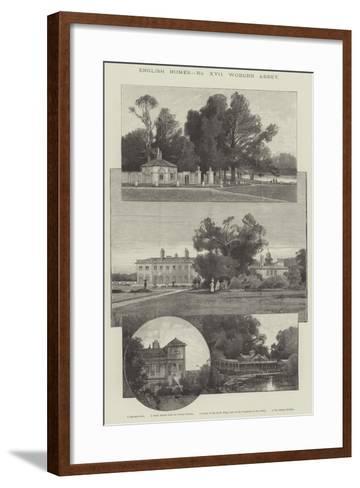 Woburn Abbey-Charles Auguste Loye-Framed Art Print