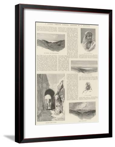 A Journey Through Morocco-Charles Auguste Loye-Framed Art Print