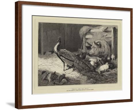 Beauty and the Beast-Charles Burton Barber-Framed Art Print