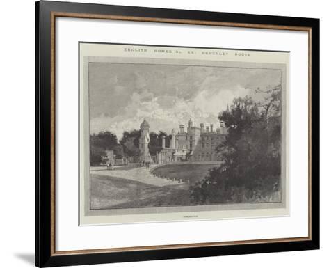 Burghley House-Charles Auguste Loye-Framed Art Print