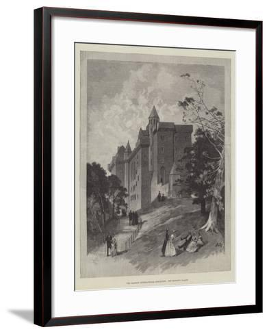 The Glasgow International Exhibition, the Bishop's Palace-Charles Auguste Loye-Framed Art Print