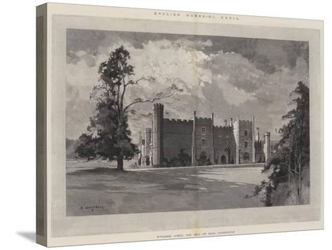 English Homes, Wycombe Abbey, the Seat of Earl Carrington-Charles Auguste Loye-Stretched Canvas Print