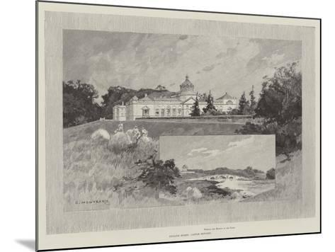 Castle Howard-Charles Auguste Loye-Mounted Giclee Print