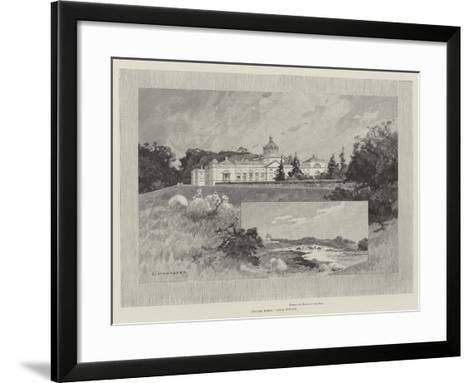 Castle Howard-Charles Auguste Loye-Framed Art Print