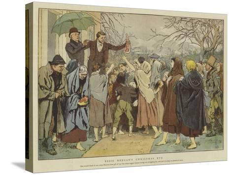 Essie Deegan's Christmas Eve-Charles Green-Stretched Canvas Print
