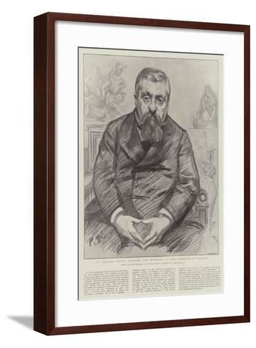 M Charles Dupuy, Premier and Minister of the Interior of France-Charles Paul Renouard-Framed Art Print
