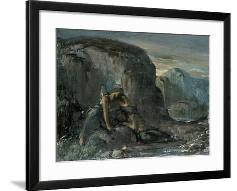 Tobias Being Comforted by the Angel-Charles Ricketts-Framed Art Print