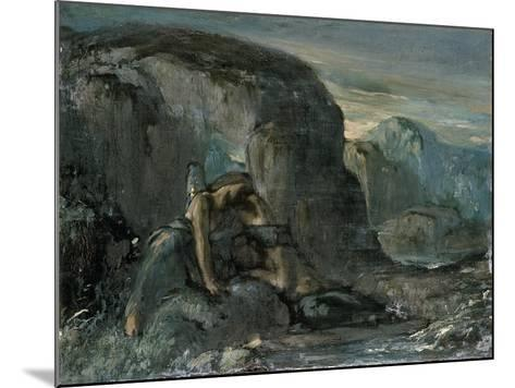 Tobias Being Comforted by the Angel-Charles Ricketts-Mounted Giclee Print