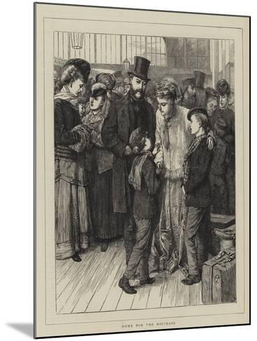 Home for the Holidays-Charles Green-Mounted Giclee Print