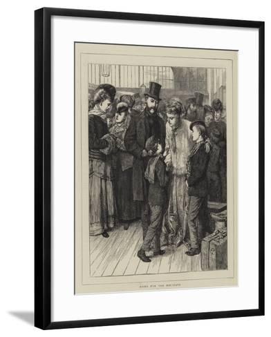 Home for the Holidays-Charles Green-Framed Art Print