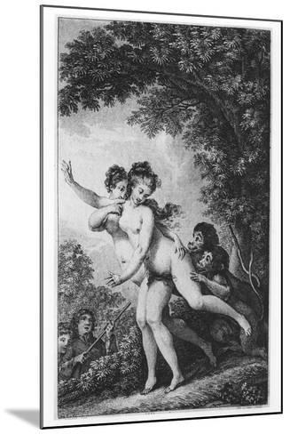 The Cries Proceeded from Two Young Women Who Were Tripping Disrobed Among the Mead-Charles Monnet-Mounted Giclee Print