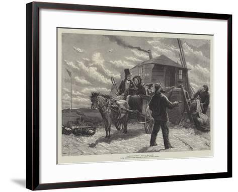 Barkis Is Willin, in the Exhibition of the Institute of Painters in Water Colours-Charles Joseph Staniland-Framed Art Print