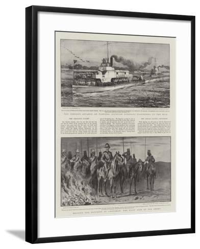 Battle of Omdurman-Charles Joseph Staniland-Framed Art Print