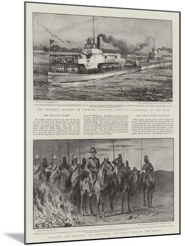Battle of Omdurman-Charles Joseph Staniland-Mounted Giclee Print