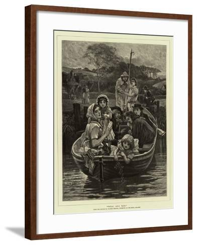 Weal and Woe-Charles Gregory-Framed Art Print