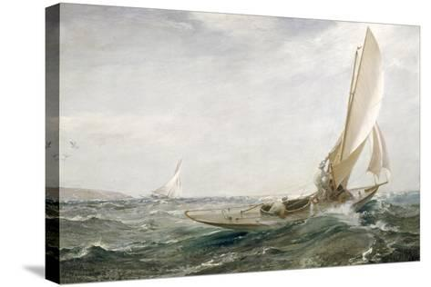 Through Sea and Air, 1910-Charles Napier Hemy-Stretched Canvas Print