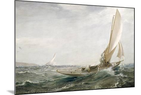 Through Sea and Air, 1910-Charles Napier Hemy-Mounted Giclee Print