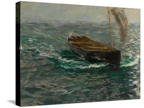 Study of a Sailing Dinghy-Charles Napier Hemy-Stretched Canvas Print
