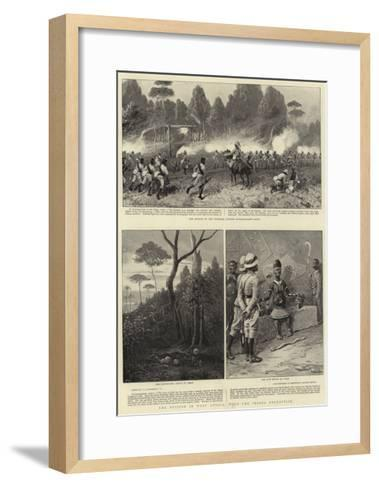 The British in West Africa, with the Ibouza Expedition-Charles Joseph Staniland-Framed Art Print