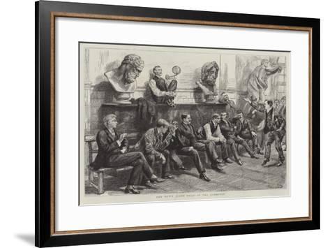 Schools of the Royal Academy-Charles Paul Renouard-Framed Art Print