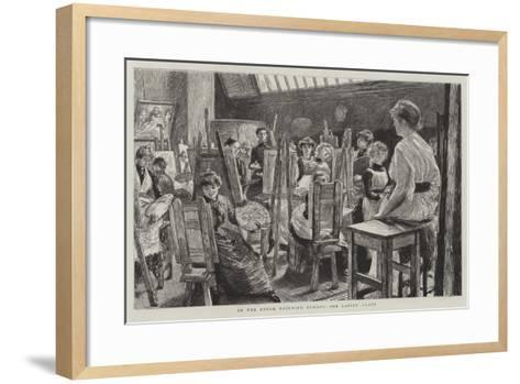 Schools of the Royal Academy-Charles Paul Renouard-Framed Art Print