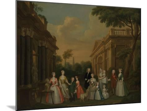 The Finch Family, C.1732-Charles Philips-Mounted Giclee Print