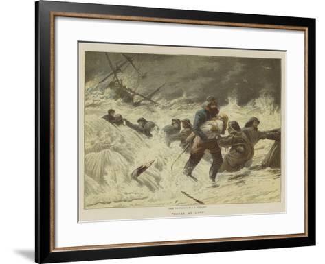 Saved at Last-Charles Joseph Staniland-Framed Art Print