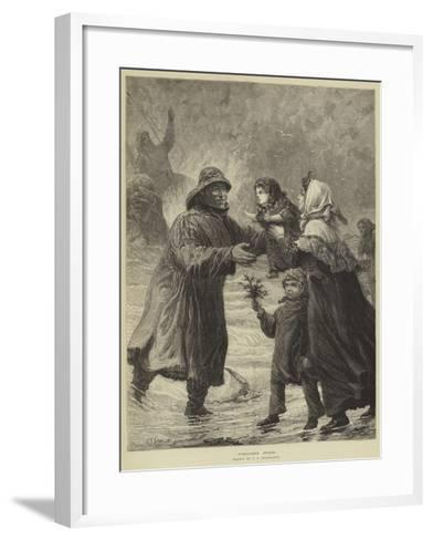 Welcome Home-Charles Joseph Staniland-Framed Art Print