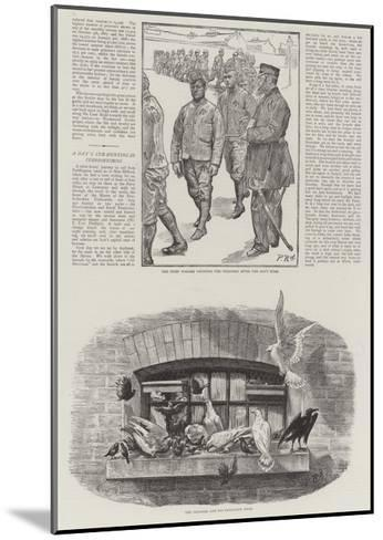 Convict Life at Wormwood Scrubs Prison-Charles Paul Renouard-Mounted Giclee Print