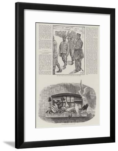 Convict Life at Wormwood Scrubs Prison-Charles Paul Renouard-Framed Art Print